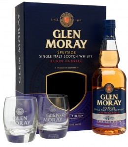 Whisky Glen Moray Elgin Port 40% 0,7l + 2 szklanki