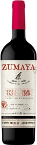 Wino Ribera del Duero DO Zumaya Roble 2016