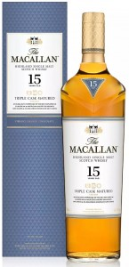 Whisky Macallan 15YO Triple Cask 43% 0,7l
