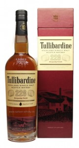 Whisky Tullibardine 228 Burgundy Cask Finish 0,7l