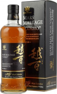 Whisky Mars Maltage Cosmo 43% 0,7L