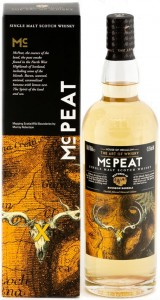 Whisky MC Peat Single Malt bourbon  43,5% 0,7l