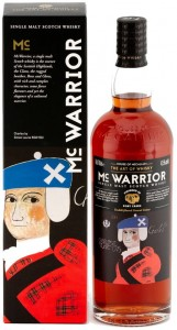 Whisky MC Warrior Port Cask Finish 43,5% 0,7l