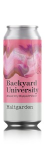 Piwo Maltgarden Backyard University 0,5 can