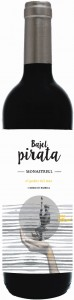 Wino Bajel Pirata Roble 0,75l