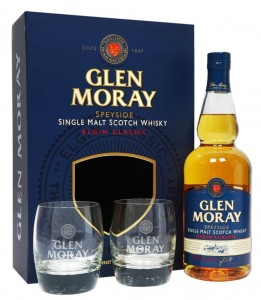 Whisky Glen Moray Elgin Classic 40% 0,7l + 2 szkla