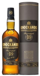 Whisky Knockando 18y SLow Matured 43% 0,7l