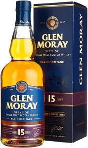 Whisky Glen Moray 15YO 40% 0,7l