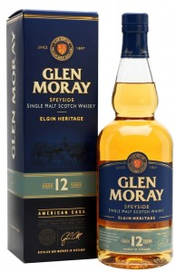 Whisky Glen Moray 12YO 40% 0,7l